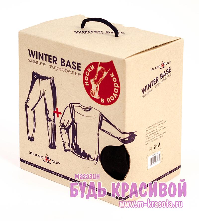 d8b5e717914 Комплект мужского термобелья Island Cup Winter Base (кальсоны и футболка с  длинным рукавом для мужчин