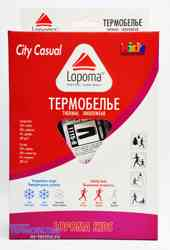 Изображение детских штанишек финского термобелья Lopoma Everyday City Casual 1115
