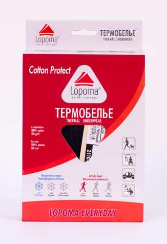 Фото упаковки термобелья ЛОПОМА.