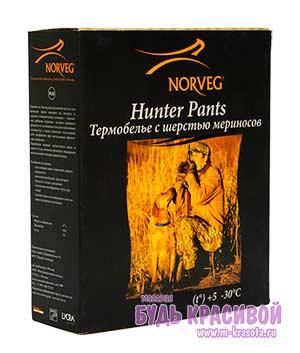 Термобельё из мериносовой шерсти для мужчин Norveg Hunter