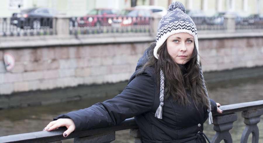 Женская шапка для прогулок по городу НОРВЕГ.